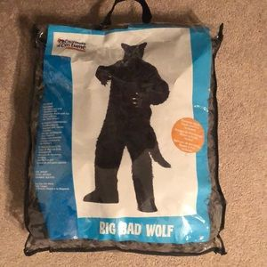 Big bad wolf costume adult size